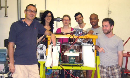 Max Camp - group with the Forward Tagger calorimeter